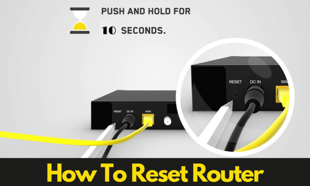 How To Reset Router? How Do I Reset My WIFI Router?