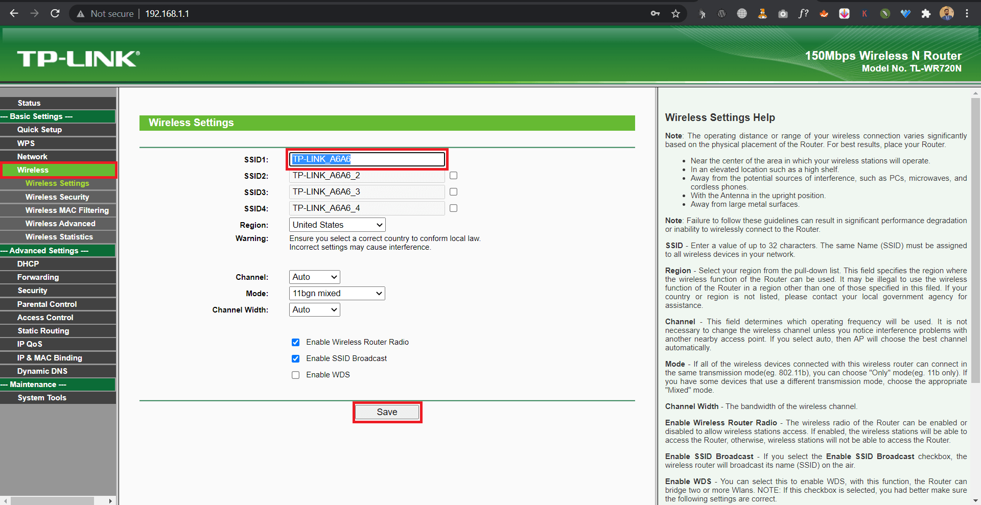how to Change router name