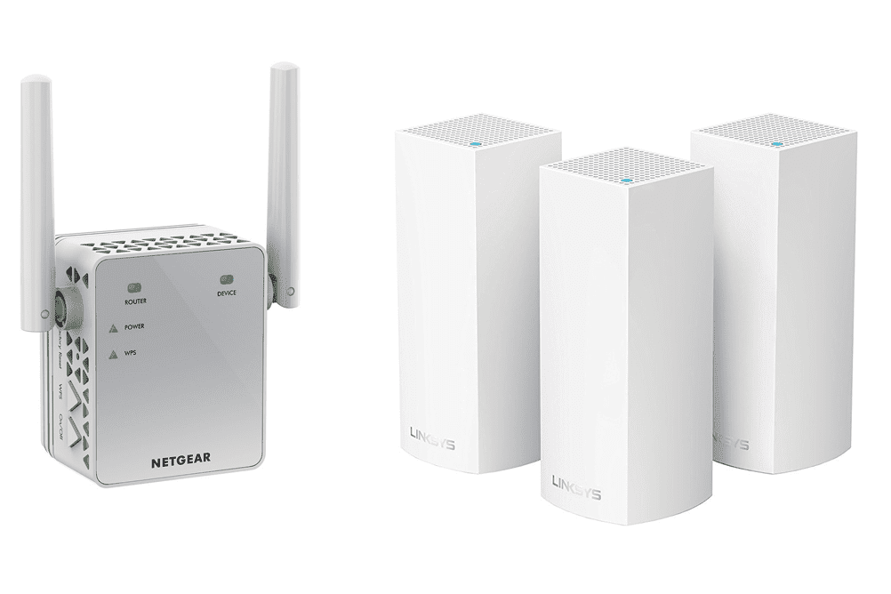 Use mesh Wi-Fi or extenders to spread Wi-Fi through your house
